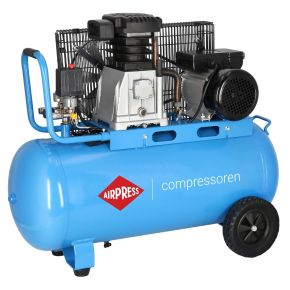 Compressor HL 340-90 10 bar 3 hp 272 l/min 90 l
