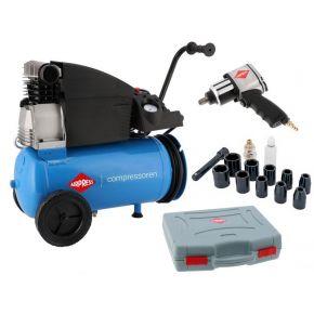 Compressor H 360-25 10 bar 2.5 hp/1.8 kW 288 l/min 25 L Plug & Play