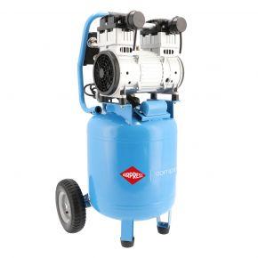 Standing silent oil free Compressor LMVO 40-250 8 bar 2 hp 231 l/min 50 l