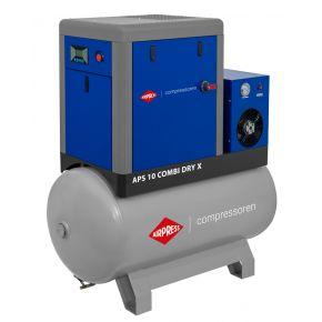 Screw Compressor APS 10 Combi Dry X 10 bar 10 hp/7.5 kW 920 l/min 500 l
