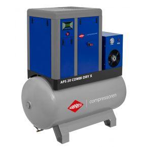 Screw Compressor APS 20 Combi Dry X 10 bar 20 hp/15 kW 1870 l/min 500 l