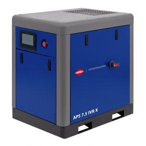Screw Compressor APS 7.5 IVR X 10 bar 7.5 hp/5.5 kW 170-690 l/min