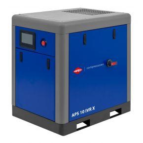 Screw Compressor APS 10 IVR X 10 bar 10 hp/7.5 kW 270-950 l/min