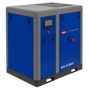 Screw Compressor APS 15 IVR X 10 bar 15 hp/11 kW 380-1410 l/min