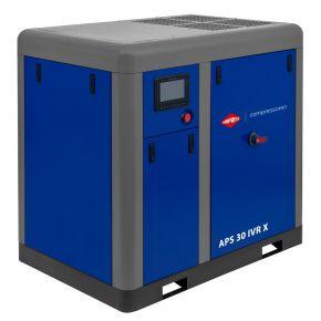 Screw Compressor APS 30 IVR X 10 bar 30 hp/22 kW 730-2950 l/min