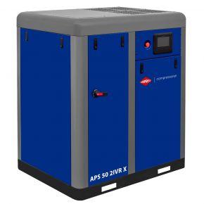 Screw compressor APS 50 2IVR X 10 bar 50 hp/37 kW 1890-5900 l/min