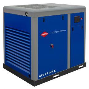 Screw Compressor APS 75 IVR X 10 bar 75 hp/55 kW 2700-8710 l/min