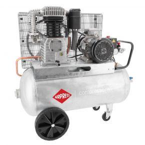Compressor G 700-90 Pro 11 bar 5.5 hp/4 kW 530 l/min 90 l 400V