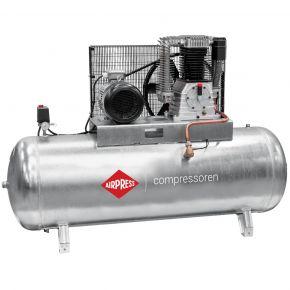 Compressor G 1500-500 Pro 11 bar 10 hp/7.5 kW 859 l/min 500 l galvanized
