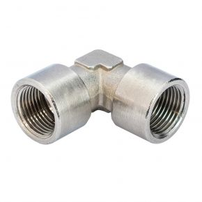 "Elbow coupling 3/8"" x 3/8"" female 90 degrees"
