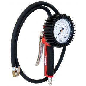 Calibrated tire inflator CEE N 86/217 with 1 m hose
