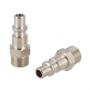 """Plugin Nipple type Orion 1/4"""" male 2x"""