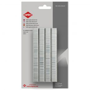 Staples type 80 20 mm 1000 pieces