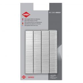 Staples 80/20 mm stainless steel