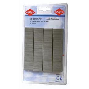 Staples type 80 25 mm 1000 pieces