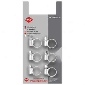 Zippers 10-16 mm 6 pieces