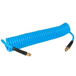 Spiral Air Hose 10 m 8 mm 12 bar