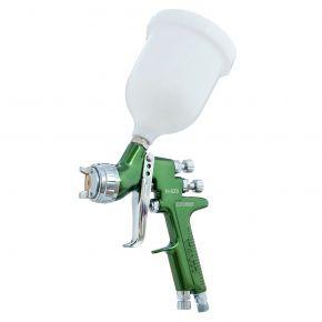 Paint spray pistol 2 bar 1.3 mm nozzle 600 ml cup