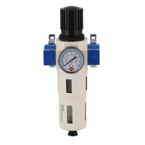 "Oil-/Water seperator and pressure reducing valve 1/2"" 15 bar"