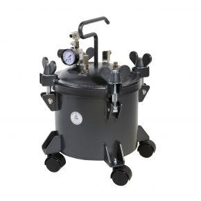 Paint spray unit 5.5 bar 2 mm nozzle 9.5 l cup