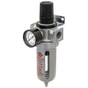 """Oil-/Water seperator and pressure reducing valve 1/4"""" 15 bar"""