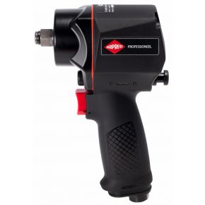 "Pneumatic impact wrench 949 Nm 1/2"" 126 l/min with plug-in nipple"