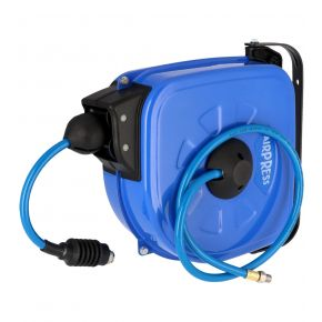 Air hose wall reel 15 m 8 x 12 mm 16 bar