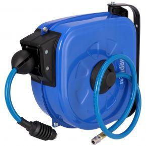 Air hose wall reel 12 m 9.5 x 13.5 mm PU
