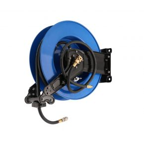 Air hose wall reel 20 m 10 x 17 mm PU metal frame