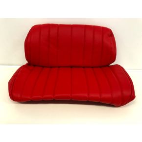 Hedo seat covers red 2 pieces