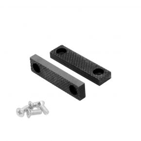 Jaws 75 mm replacement set with bolts for Swivel Vise 3