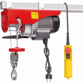 Electric cable hoist 125/250 kg