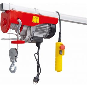 Electric cable hoist 200/400 kg