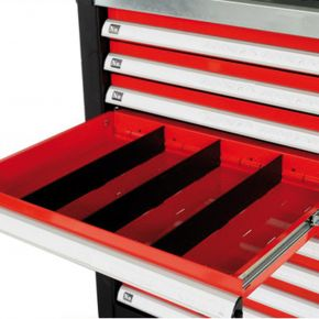 Drawer divider 105 x 395 mm for tools trolley