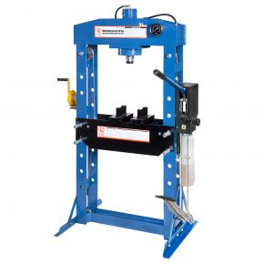 Hydraulic press 50 ton 9 heights 190 mm stroke length