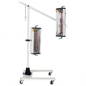 Infrared paint Drying lamp 2x1000 W