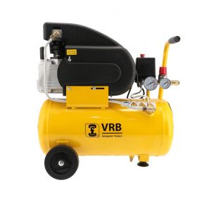 Compressor LC 24-1.5 VRB 8 bar 1.5 hp 125 l/min 24 l