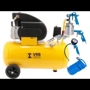 Compressor 8LC50-2.0 VRB 8 bar 1.5 hp/1.1 kW 138 l/min 50 l Plug & Play