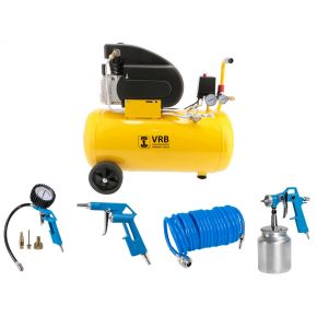 Compressor 8LC50-2.0 VRB 8 bar 2 hp 160 l/min 50 l Plug & Play