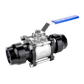 Aluminium Ball valve 25 mm