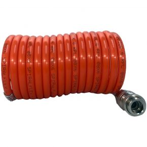 Spiral Air Hose 3 m 8 x 6 mm Orion