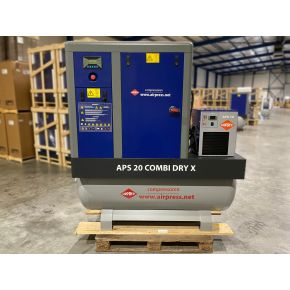 Screw Compressor APS 20 Combi Dry X 10 bar 20 hp 1870 l/min 500 l (2nd chance)