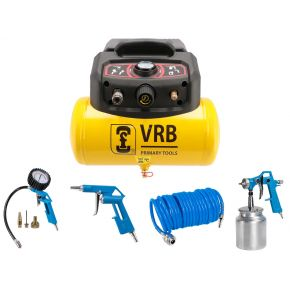 Compressor 8LC6-1.5 VRB 8 bar 1.5 hp 129 l/min 6 l Plug & Play