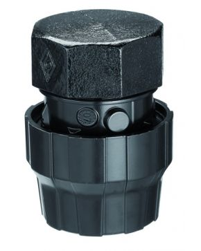 Aluminium female cap 25 mm