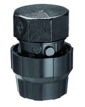 Aluminium female cap 50 mm