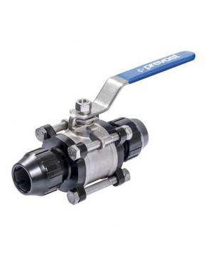 Stainless steel ball valve 63 mm