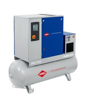Screw Compressor Combi 7.5 Dry 8-10 bar 7.5 hp 670-790 l/min