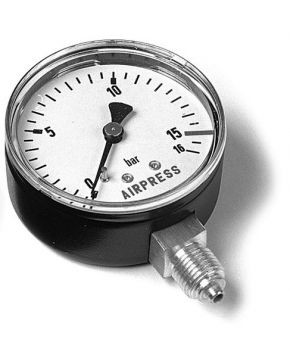 "Pressure gauge 1/4"" bottom connection"