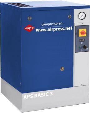 Screw Compressor APS 3 Basic 10 bar 3 hp 240 l/min