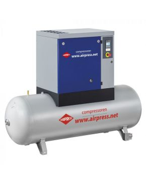 Screw Compressor APS 15 Basic Combi 10 bar 15 hp 1310 l/min 500 l